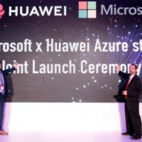 Microsoft and Huawei Azure Stack Joint Solution Launch CeremonyWEB