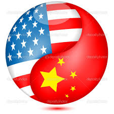USandChineseFlag ball