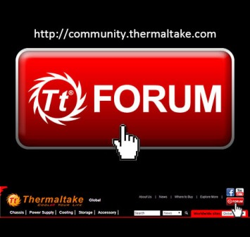 Thermaltake announces the launch of Tt CommunityWEB