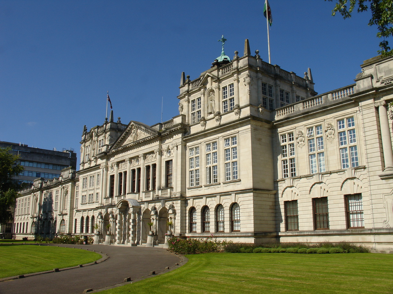 Circle IT-Cardiff University main building